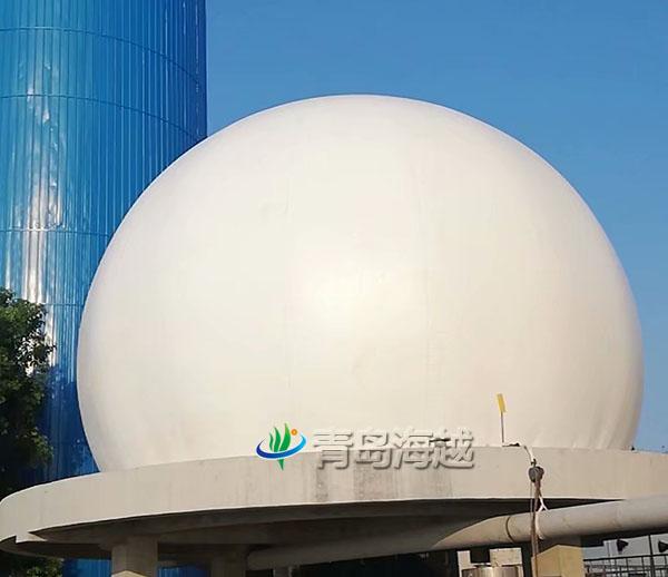 海越河南省新亚造纸厂双膜气柜污水处理沼气回收利用项目图片