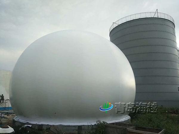 内蒙古1000立方厌氧双膜气柜淀粉厂污水处理项目