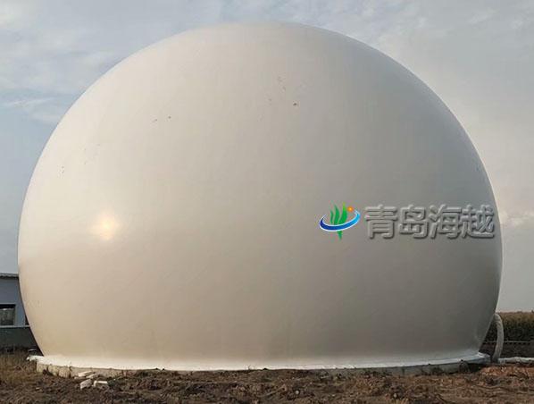 西藏自治区1000立方更换双膜沼气柜维修项目