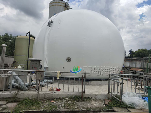 合肥肥东污水厂300立方双膜沼气储气柜更新项目