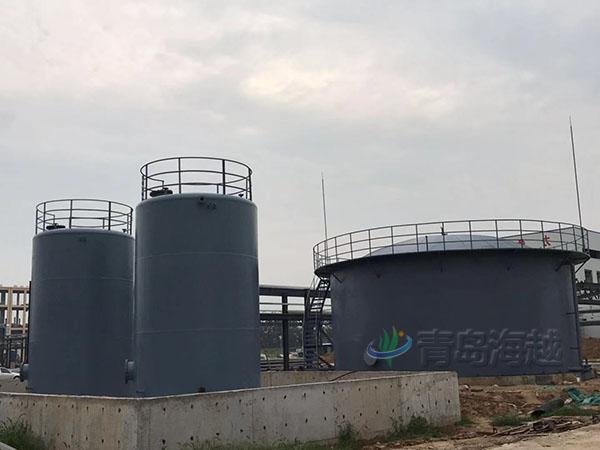 贵州贵阳市修文县养鸡场400立方沼气湿式气柜项目