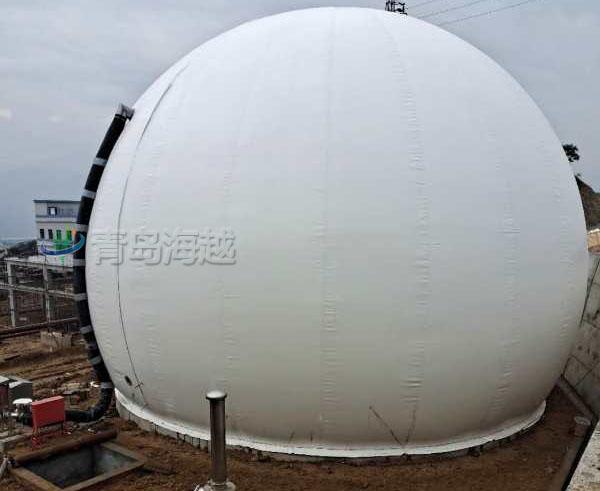 四川攀枝花独立双膜气柜2000立方餐厨垃圾处理项目