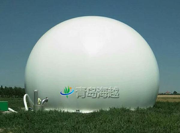山东滨州1000立方双膜气柜城市污水处理工程案例图片