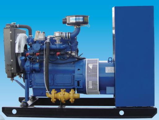 海越小中大型沼气发电机组10~500KW图片