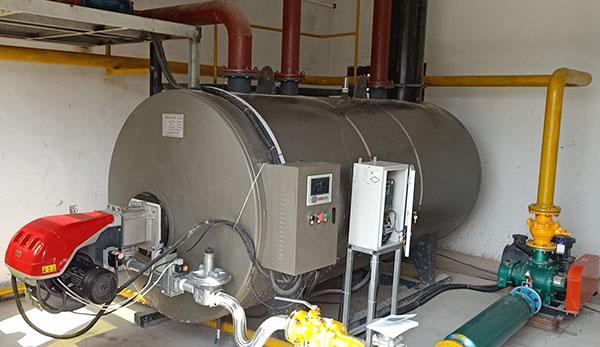 海越沼气锅炉供热采暖蒸汽图片