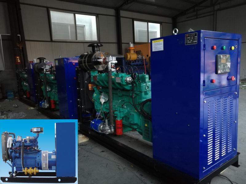 小中大型沼气发电机组10KW-500KW
