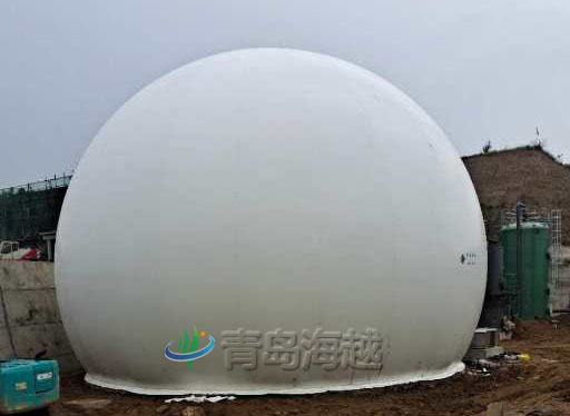 沼气工程的海越双膜储气柜安全六大标准