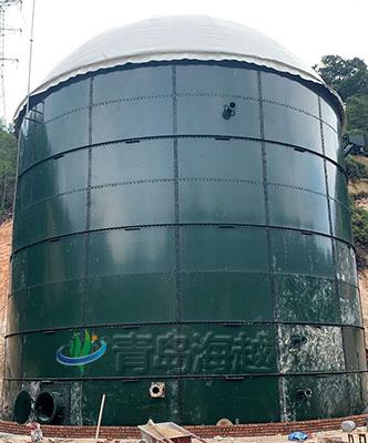 低压湿式沼气气柜运行管理简要概述